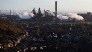 The Port Talbot plant
