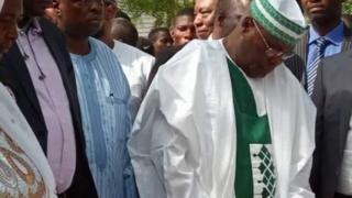 Atiku Abubakar ya wurin zabe