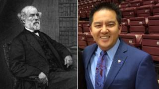 Confederate General Robert E Lee and ESPN sports commentator Robert Lee