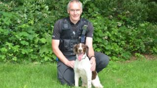 Police dog awarded animal OBE