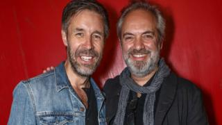 Paddy Considine and Sam Mendes