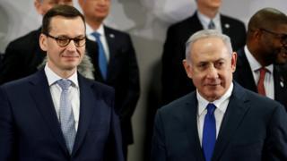 Матеуш Моравецкий и Биньямин Нетаньяху
