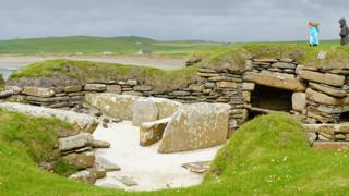 Orkney world heritage sites threatened by climate change