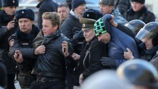 москва протести
