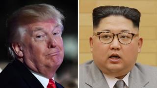 Трамп і Кім Чен Ин