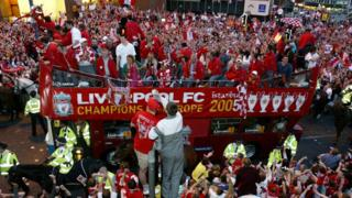 Liverpool FC victory parade
