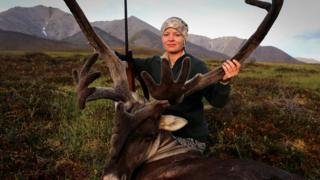 Alaskan hunter Christine Cunningham