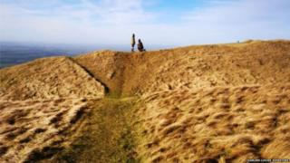Cleeve Hill proposal pair tracked down from photo
