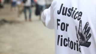 ဗစ္တိုးရီးယားအမှု တရားမျှတရေး နိုင်ငံတဝန်း တောင်းဆိုမှုတွေ ဖြစ်ပေါ်နေ