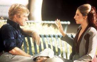 Robert Redford and Barbra Streisand in The Way We Were, 1973