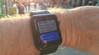 Sherlock working on Apple Watch