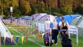 A previous Camping Ninja site