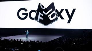 Apresentação do Galaxy Fold