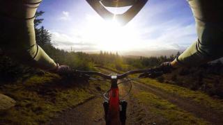 Bike in Peebles