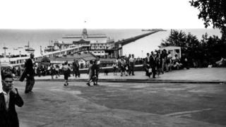 Southend Pier in 1947