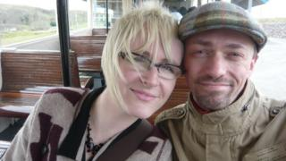 Hazel and Roland together just before the accident in 2011