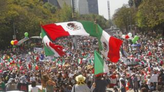 مسيرات في المكسيك