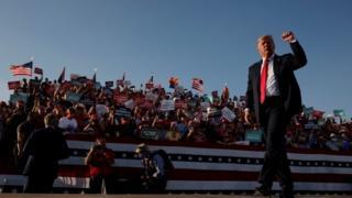 Trump at campaign rally