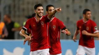 Walid Azarou scored a hat-trick