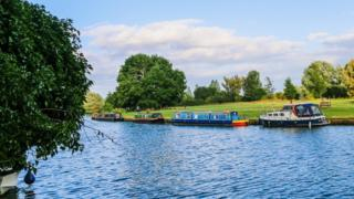Canal boats, Abingdon