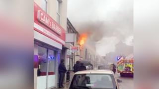 Luton fire