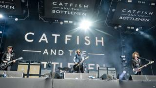 Catfish and the Bottlemen perform on stage