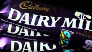 Cadbury's Dairy Milk bars