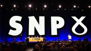 snp conference stage