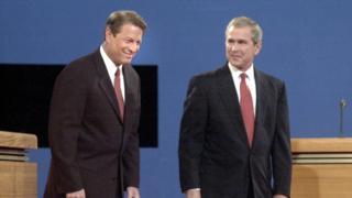 Gore y Bush