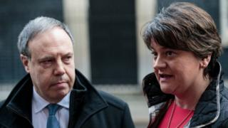 Arlene Foster and Nigel Dodds
