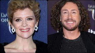 Corrie's Jane Danson and ex England cricketer Ryan Sidebottom