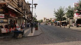 Diyarbakır sokakları