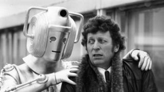 Ünlü İngiliz dizisi Dr. Who'dan bir sahne