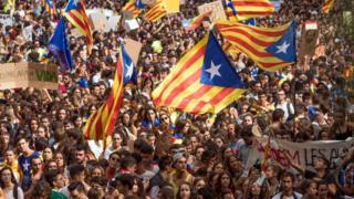 Catalonia protest