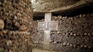 Paris Catacombs (file photo)