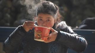 चीन, नूडल्स, भारत
