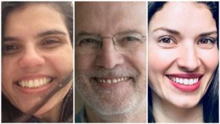 Maria Luiza Vianna, Marcio Monteiro e Renata Betti