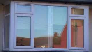 Window divider in Shirebrook, Derbyshire