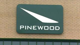 Pinewood sign