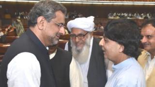 سابق وزیراعظم خاقان عباسی