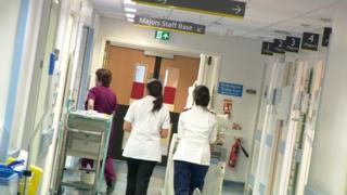 Ward at Chorley hospital