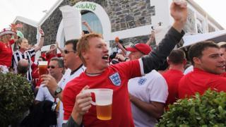 football fan England