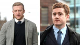 Paddy Jackson and Stuart Olding deny raping the woman