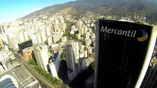 Sede del banco Mercantil en Caracas.