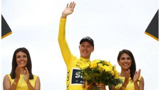 Le cycliste britannique, Chris Froome, a remporté à quatre reprise le Tour de France.
