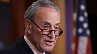 Senate minority leader Chuck Schumer