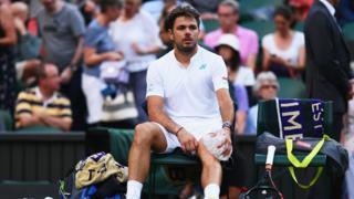 Stan Wawrinka a été éliminé au 1er tour à Wimbledon contre le Russe Daniil Medvedev.