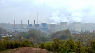 The Tuzla Power Plant burns three million tonnes of coal each year