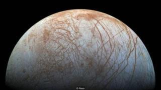 बृहस्पति के चंद्रमा यूरोपा पर हो सकता है जीवन