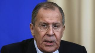นายเซอร์เก ลาฟรอฟ รัฐมนตรีต่างประเทศรัสเซีย